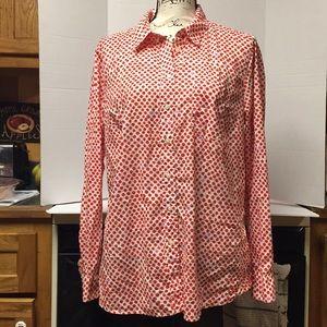 Gap polka dot shirt